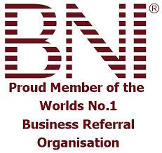 BNI - Proud Member of the Words Nº 1 Business Referral Organization